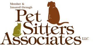 Bonded Member and Insured hrough Pet Sitters Associates